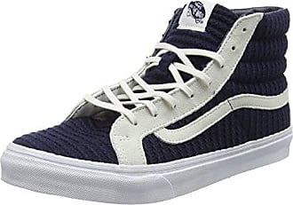 sk8-Hi, Sneakers Hautes Mixte Adulte, Bleu (MTE Evening Bleue/TRUE White), 36.5 EUVans