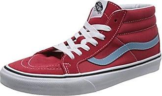Vans Era, Zapatillas de skate Unisex, Rojo (2 Tone Suede (Black Red)), 36 EU (3.5 UK)