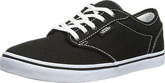 Vans - Zapatillas de Piel para mujer negro negro, color negro, talla 36 EU (M)