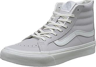 Sk8-Hi Slim Zip, Sneakers Hautes Mixte Adulte, Gris (Tumble Patent/Pewter), 38 EU (5 UK)Vans