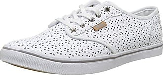 Vans Atwood Low, Zapatillas de Entrenamiento para Mujer, Blanco (White/Navycanvas), 38.5 EU