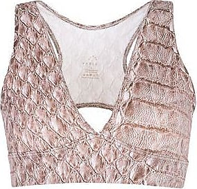 BROOKS MARIS SNAKE CROP - TOPWEAR - Tops Varley