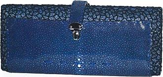 Vbh Vbh Blue Shagreen Rectangular Compact 1st Ed 123/300 Clutch