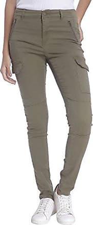 Ida - Pantalon - Slim - Femme - Beige (Stocking Beige) - FR: 34 (Taille fabricant: 34)Vero Moda