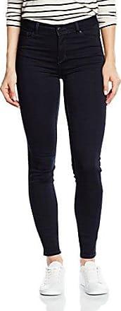 Vero Moda Vmseven Nw Ss Smooth Jeans Dk Bl Noos, Mujer, Azul (Dark Blue Denim), 34/L30 (Talla del fabricante: X-Small)