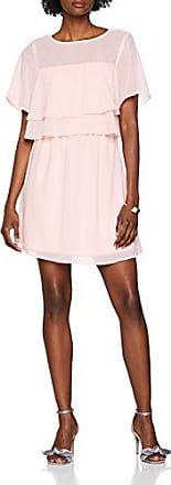 Vero Moda Vmdora SS Short Dress, Vestido para Mujer, Rosa (Sepia Rose Sepia Rose), 40 (Talla del Fabricante: Medium)