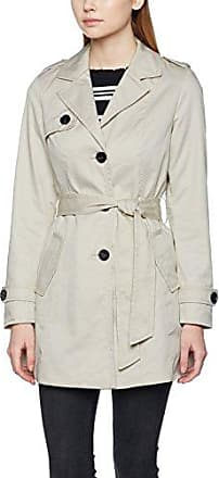 Vmgo Abby 3/4 Trenchcoat Boos, Manteau Femme, Ecru (Oatmeal Oatmeal), 44 (Taille Fabricant: X-Large)Vero Moda