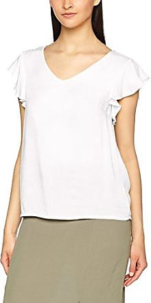 Vmfrankie S/l Frill Shirt D2-4, T-Shirt Femme, Bleu (Navy Blazer), 38 (Taille Fabricant: Medium)Vero Moda