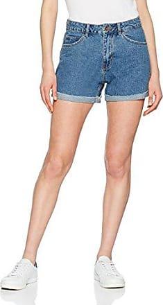 Mom-Shorts - Blau Vero Moda