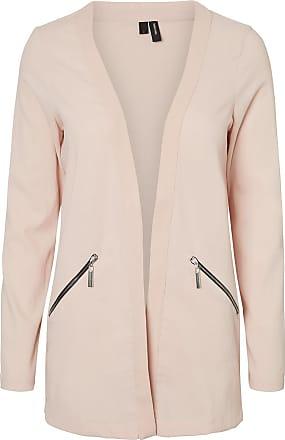 Lang Blazer Dames Roze Vero Moda