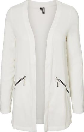 Lang Blazer Dames White Vero Moda