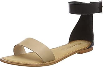 Vero Moda Vmway Leather, Sandales Plateforme Femme, (Curds et Whey), 41 EU