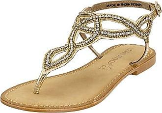 Vero MODAVMSIWI Leather Sandal - Sandalias Romanas Mujer, Color Beige, Talla 37 Vero Moda
