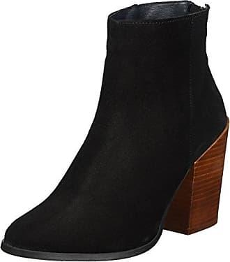 Vero Moda Vmmille Leather Overknee Boot, Botines para Mujer, Negro (Black), 38 EU