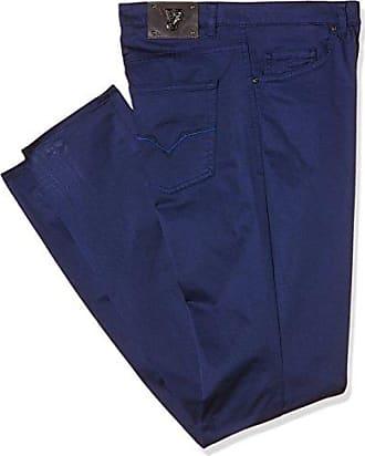 Ea2gnb0sc_ehec33, Pantalón Para Hombre, Azul (Blue Marine-E211), 27 Versace Jeans Couture