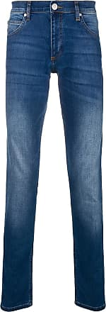 faded stretch skinny jeans - Blue Versace Jeans Couture