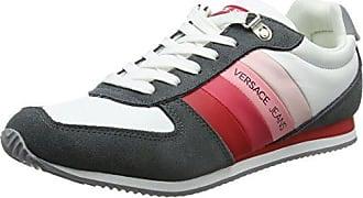 EE0VRBSA1_E70027, Zapatillas para Mujer, Blanco (Bianco Ottico E003), 37 EU Versace Jeans Couture
