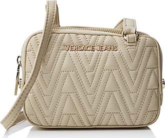 VERSACE Jeans EE1VRBBQ8_E70050, Cartable pour FemmeBlancBlanc (Bianco Ottico E003), 15x27x24 cm EU