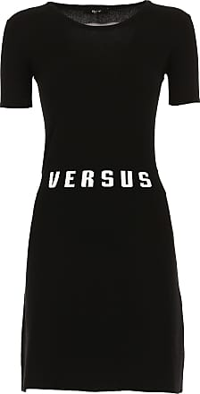Dress for Women, Evening Cocktail Party On Sale, Versus Collection, Red, viscosa, 2017, 10 Versace