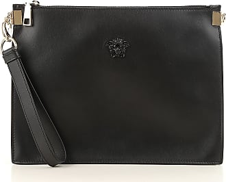 Womens Pouch On Sale, Black, Leather, 2017, one size Dolce & Gabbana