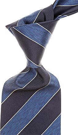 Ties On Sale, Light Sky Blue Melange, Silk, 2017, one size Giorgio Armani