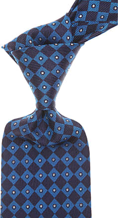 Ties On Sale, Dark Blue Navy, Suede leather, 2017, one size Versace