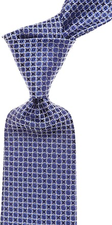 Ties On Sale, Electric Blue, Silk, 2017, one size Versace