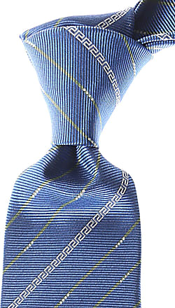 Ties On Sale, Anthracite, Silk, 2017, one size Versace