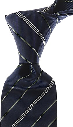 Ties On Sale, Navy Blue, Silk, 2017, one size Versace