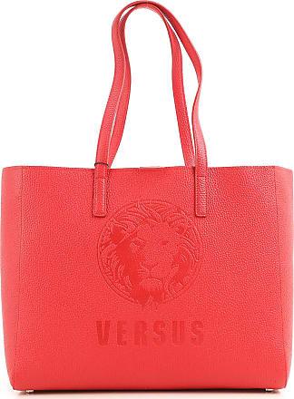 Versace Signature Open Tote Pebbled Leather Medium