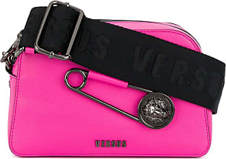 Versus safety pin logo shoulder bag - Pink & Purple