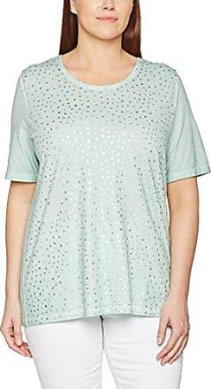 Via Appia Due 827036, Camiseta para Mujer, Verde (Jade 550), 44 (Talla del Fabricante: 42)
