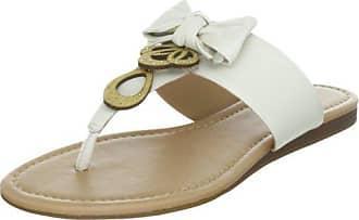 VIA UNO Leather Casein 21110610, Damen Hausschuhe, Beige (Duna), EU 39