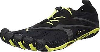 V-Run, Sneakers Basses Homme, Noir (Black/Yellow), 48 EUVibram Fivefingers