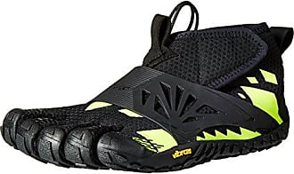 KMD Evo, Chaussures de Fitness Homme, Mehrfarbig (Black/Yellow), 43Vibram Fivefingers
