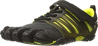 V-Train, Chaussures de Fitness Homme, Noir (Black/Green), 41 EUVibram Fivefingers