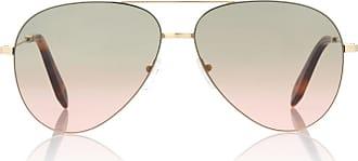 SPORT Unisex 0Ps50Rs Zvn5N0 Sunglasses, Pale Gold/Brown(Orange)/Kiridium, 59 Prada