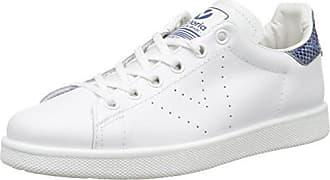 Victoria Deportivo Basket Piel - Zapatillas de Deporte Unisex, Color Blanco, Talla 41