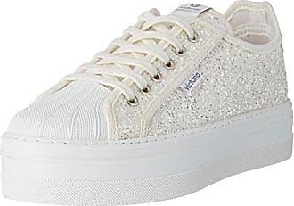 109203, Sneaker Donna, Grigio (Grigio (Antracita 16)), 39 EU Victoria