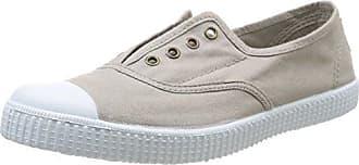 Victoria Inglesa Elastico Tenido Punt - Zapatillas de deporte de tela para mujer, color gris, talla 37