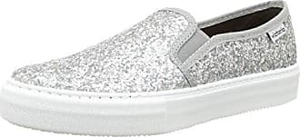 victoria Unisex-Erwachsene Slip on Glitter Lauflernschuhe Sneakers, Black (10 Negro), 38 EU