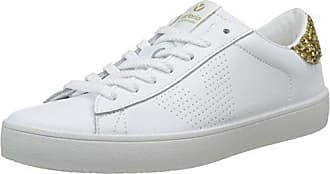 Deportivo Glitter, Sneaker Donna, Blu (Marino 30), 37 EU Victoria