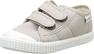 Victoria Basket Lona Dos Velcros, Zapatillas Unisex Bebé, Gris (Zinc), 18 EU