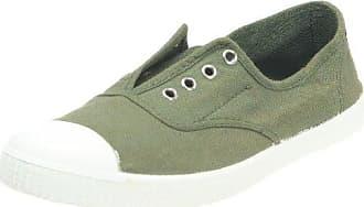 Inglesa Elastico Tenido Punt, Zapatillas Altas de Tela, Mujer, Beige (Stone), 41 Victoria