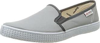 Victoria Slip On - Zapatillas de deporte de tela para hombre gris gris 36