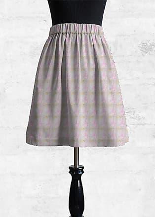 Cupro Skirt - Back to School Blue by VIDA VIDA