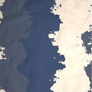 Mens Cotton Pocket Square - BLUE SKY by VIDA VIDA