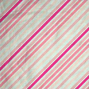 Mens Cotton Pocket Square - lilac diagonal lines by VIDA VIDA
