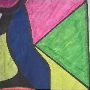 Silk Square Scarf - GLOWworm. by VIDA VIDA