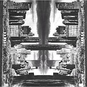 Mens Silk Pocket Square - Mirror by VIDA VIDA